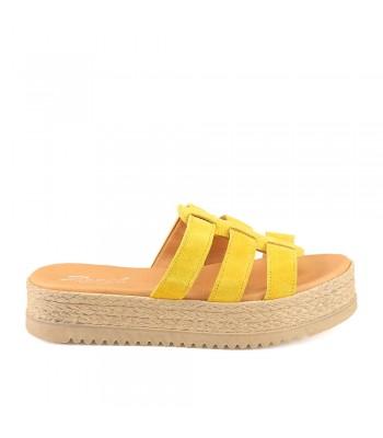 Γυναικεία Flatforms - 399 - Κίτρινο