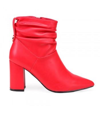 Γυναικεία Μποτάκια - N18210 - Κόκκινο