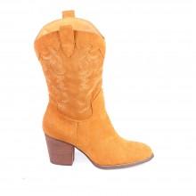 Γυναικείες Μπότες - 9968 - Κάμελ