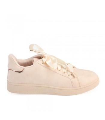 Γυναικεία Sneakers - 72302 - Nude