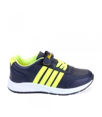 Παιδικά Αθλητικά - T905 - Μπλε-Κίτρινο